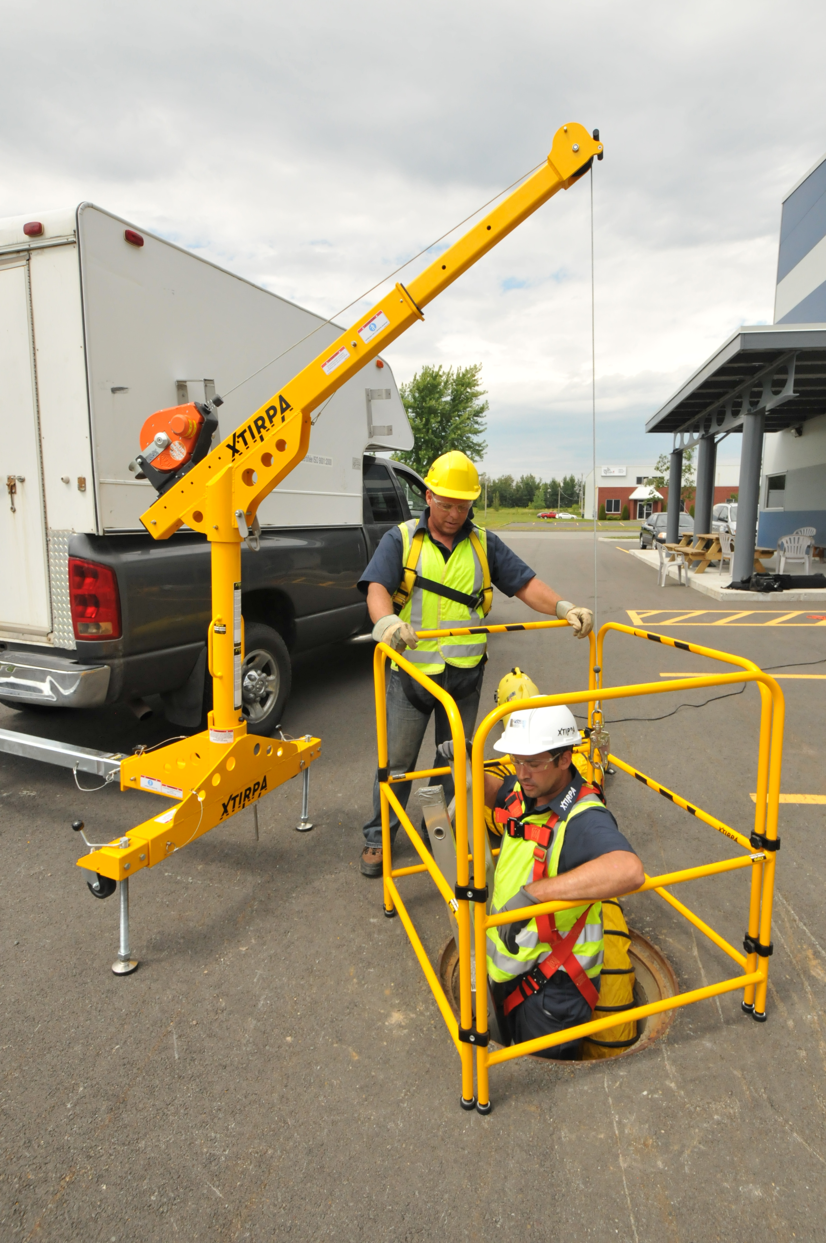 Xtirpa Trailer Hitch Mount System For Ppe Xtirpa