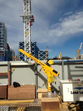 """XtIRPA™ 60"""" to 96"""" (1524mm-2439mm) Extendable Fall Protection & Retrieval Davit Arm for PPE"""
