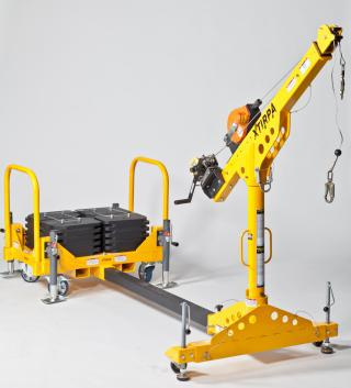 XtIRPA™ Counterweight system for PPE