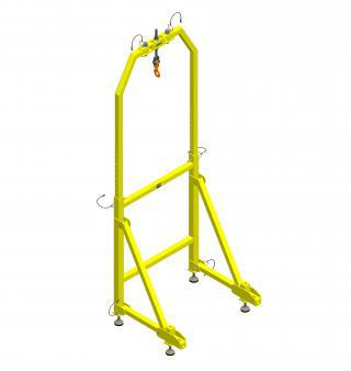 jib aDaPter FOr lateral eNtry
