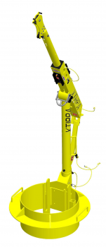Xtirpa™ Davit-arm, Mast And Adjustable Adapters