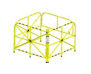 Large Manhole Guard With Integrated Mast 42'' (1067 Mm)